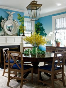 A Colorful Sag Harbor Home by Nick Olsen