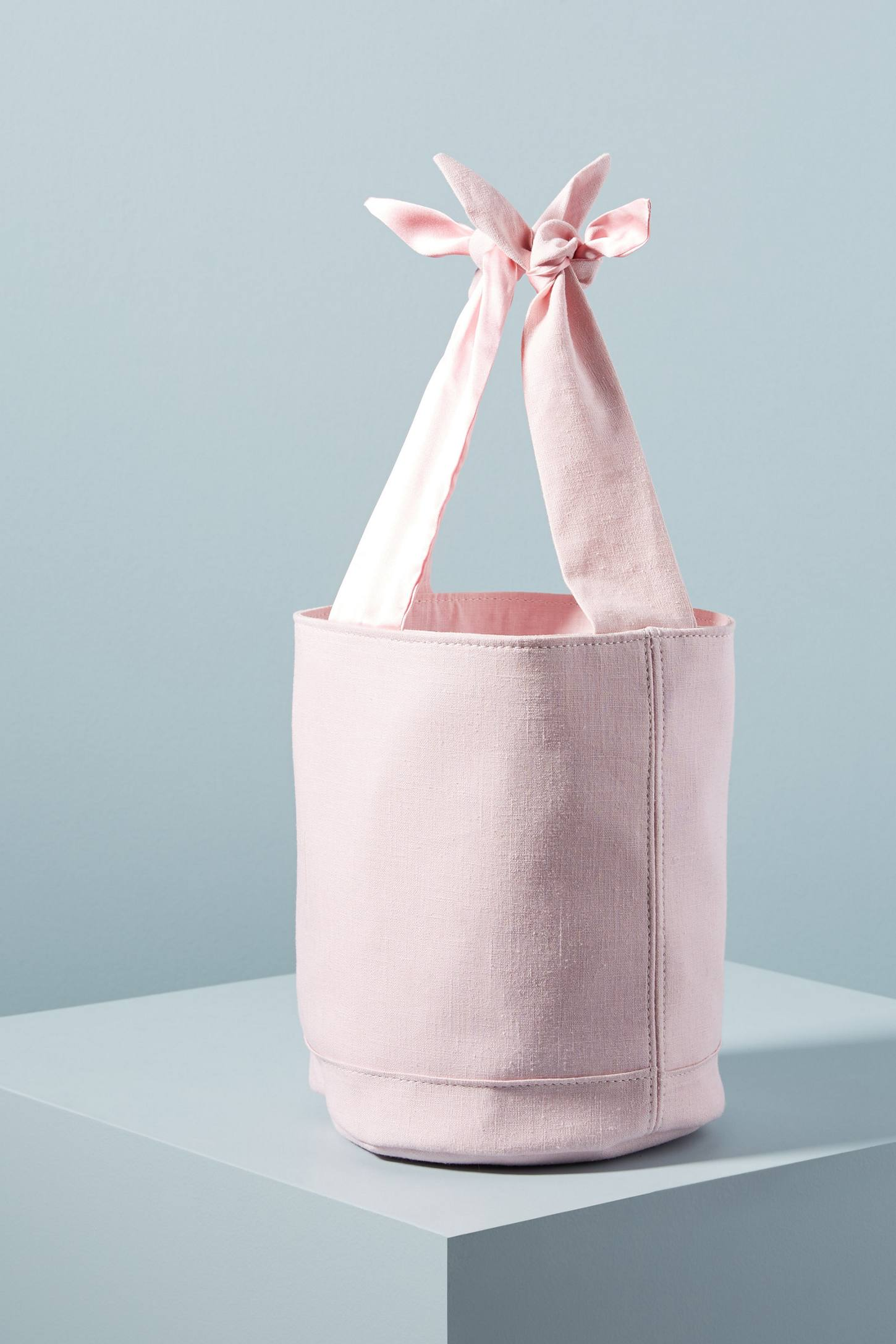 Bucket Bag with Bow Handle