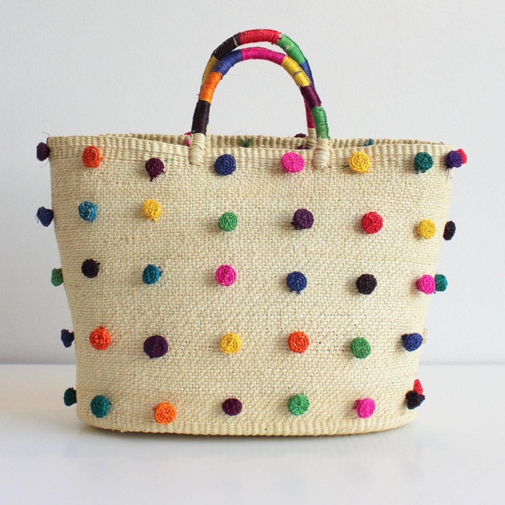 The Daily Hunt: Rainbow Pom Tote and more!