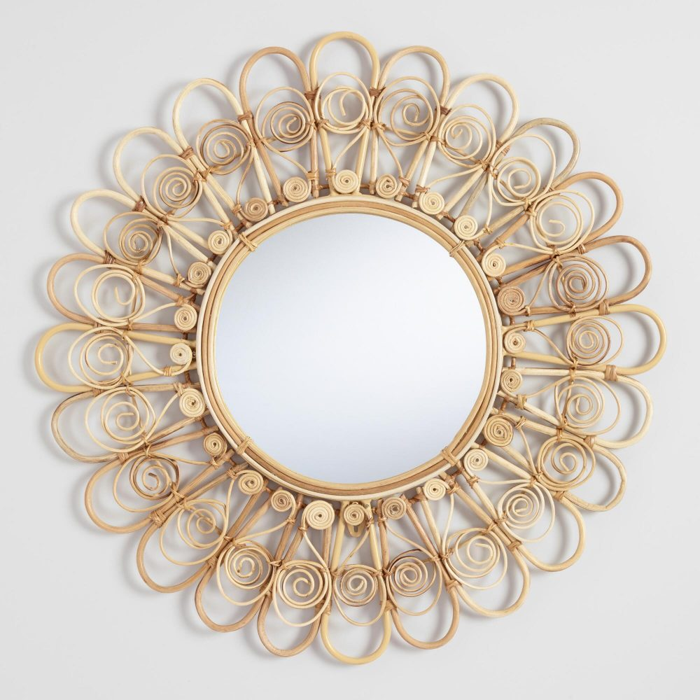 The Daily Hunt: Peacock Wicker Mirror and more!