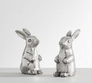 Bunny Salt and Pepper Shakers