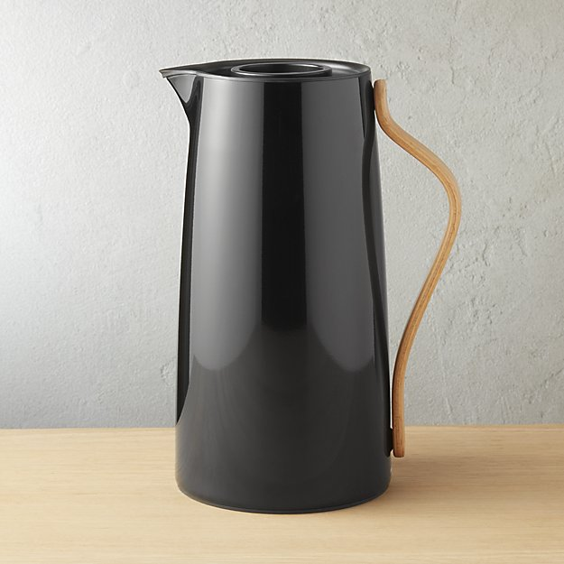 Black Vacuum Coffee Jug