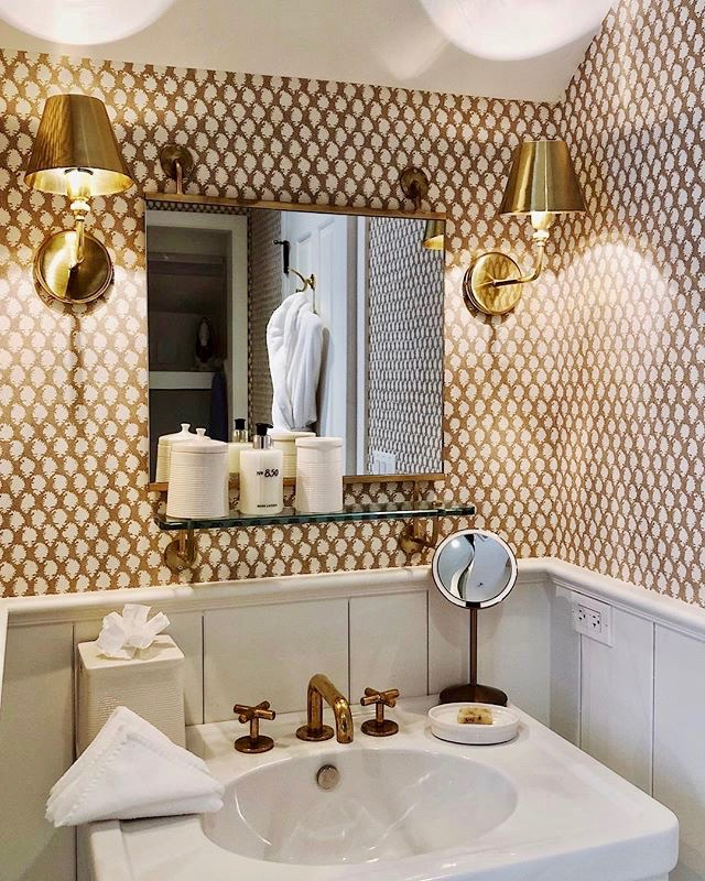 Bathroom at 850 Hotel West Hollywood by Rita Konig