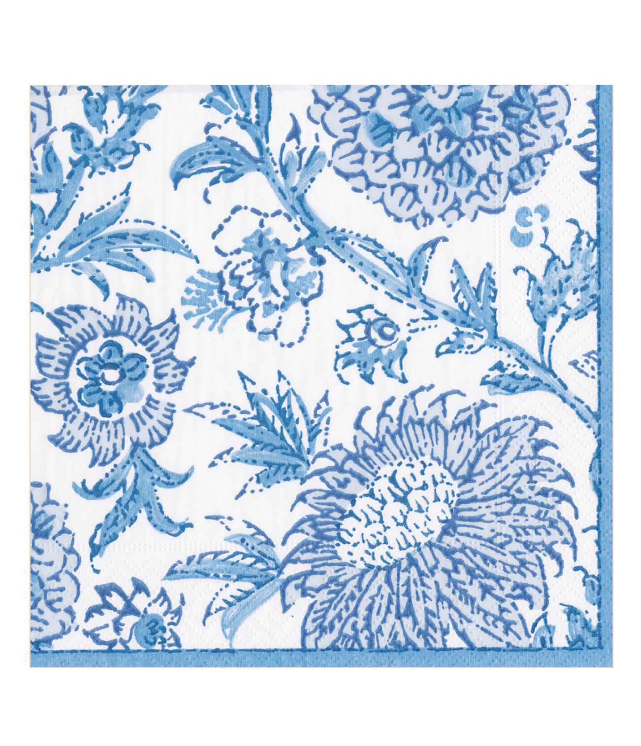 Blue Indiennes Cocktail Napkins