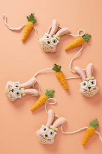 Bunny and Carrot Garland