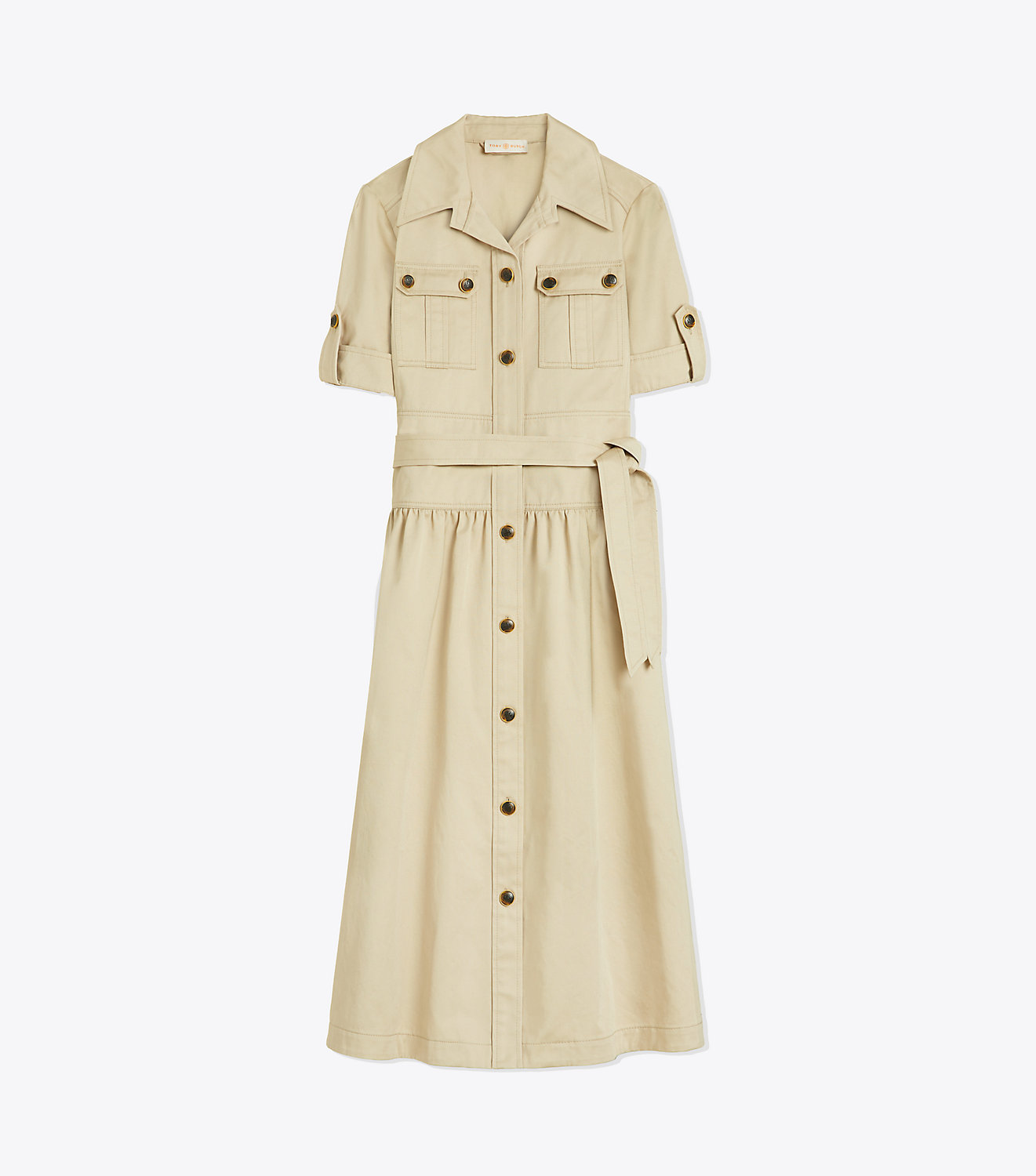 Button Down Safari Dress