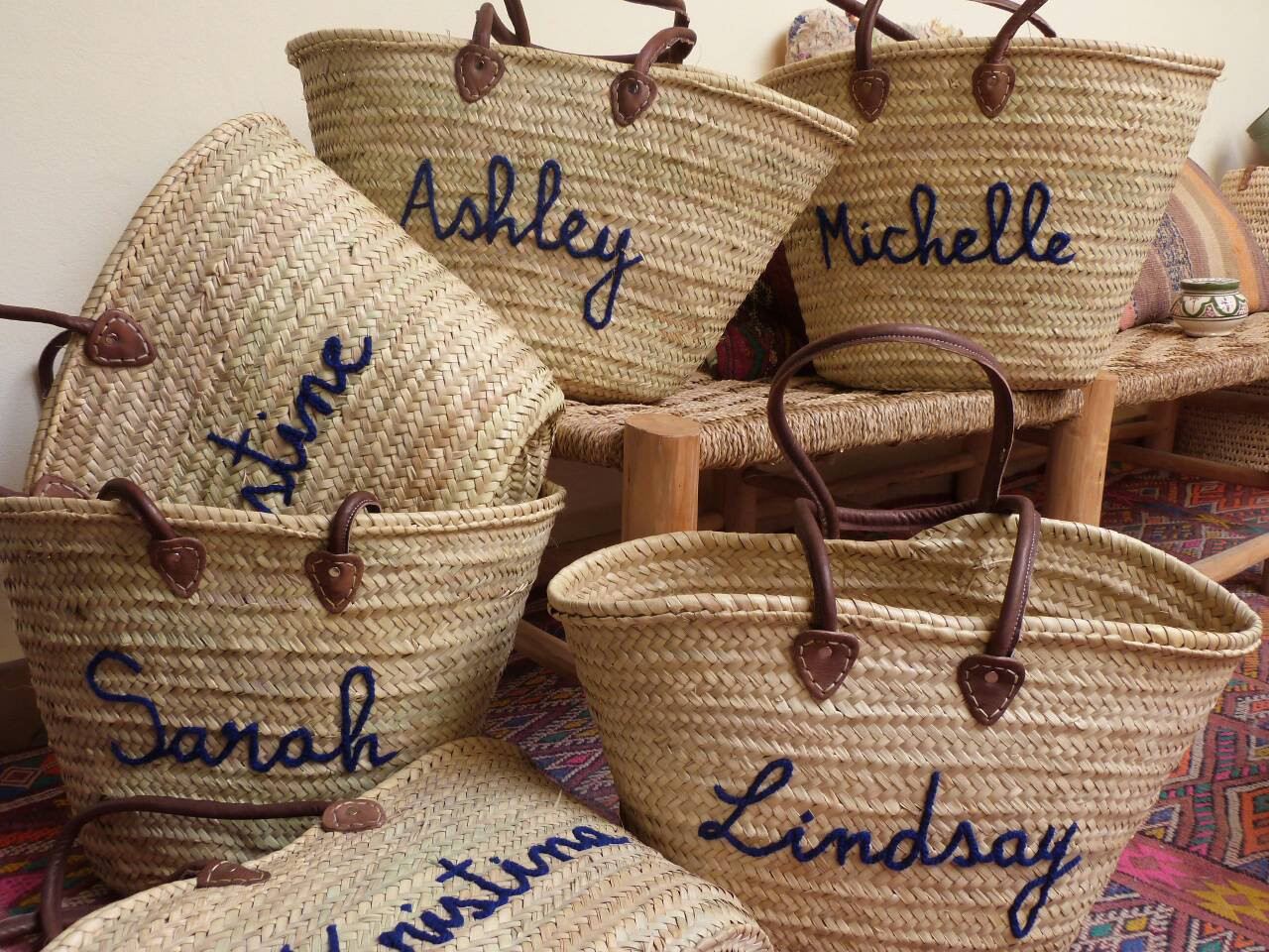 Customized Straw Bags