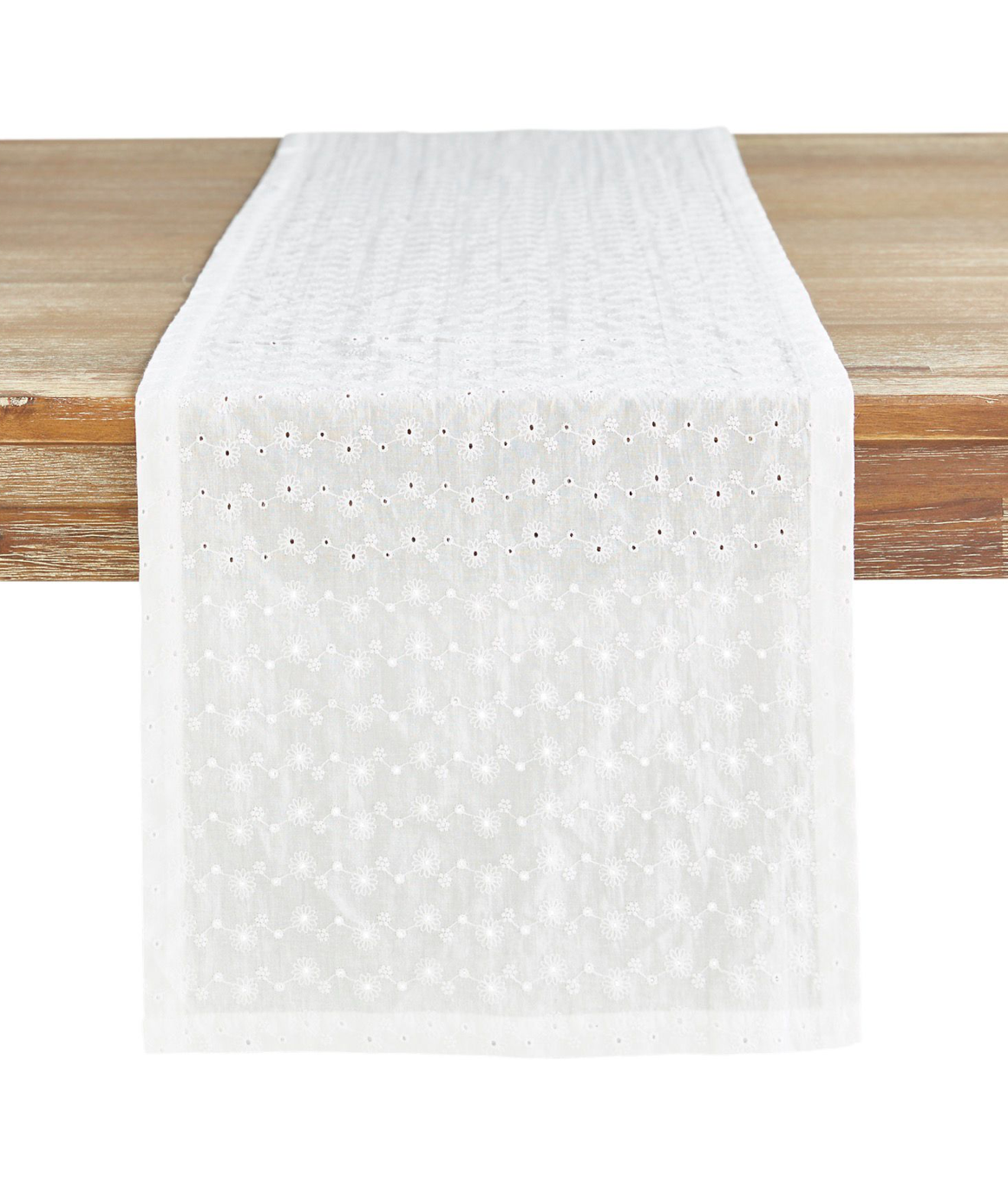 Eyelet Table Runner