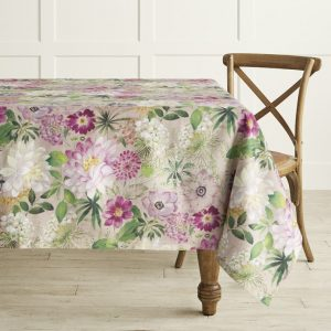 Floral Table Throw