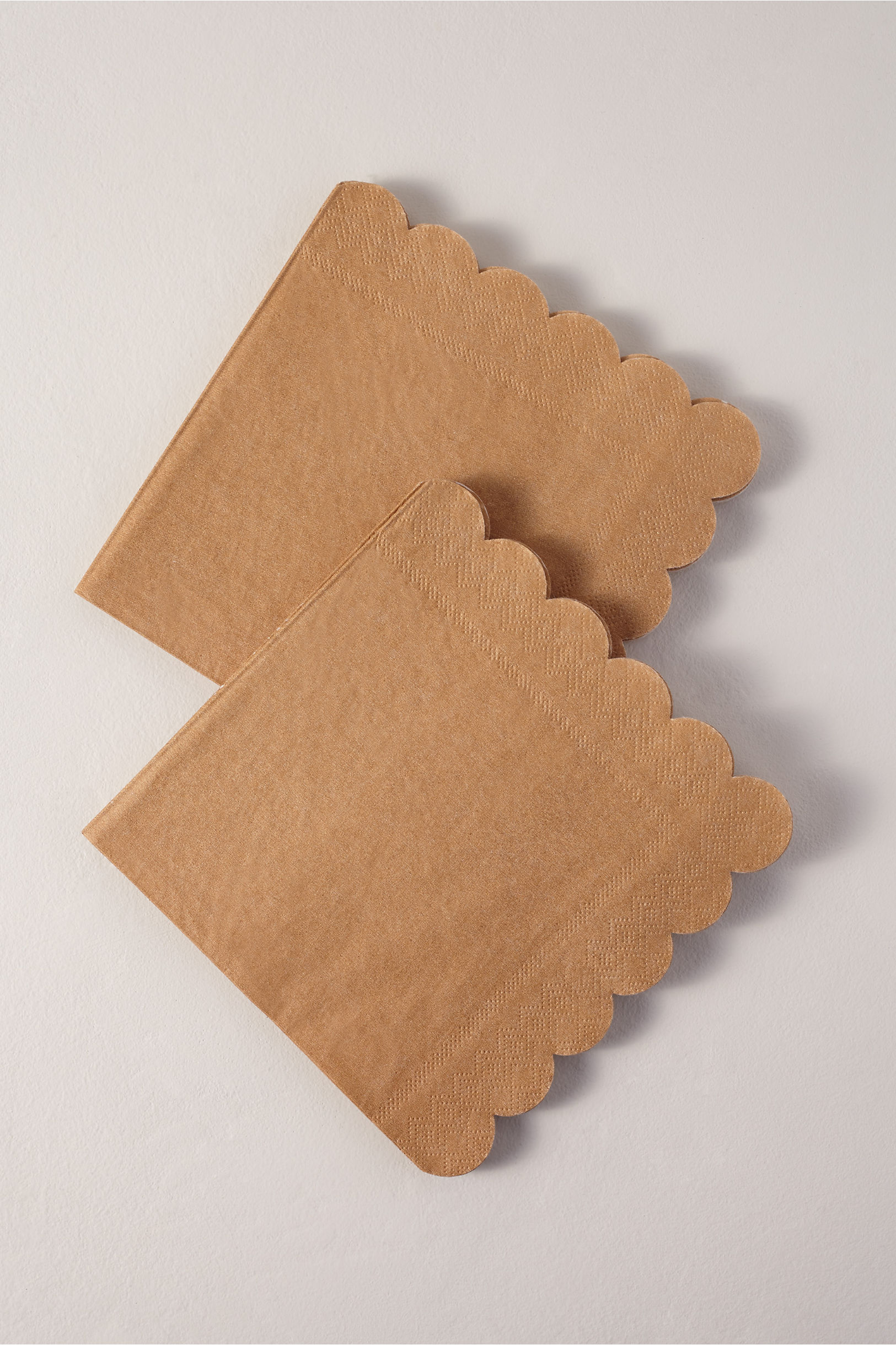 Scalloped Napkins
