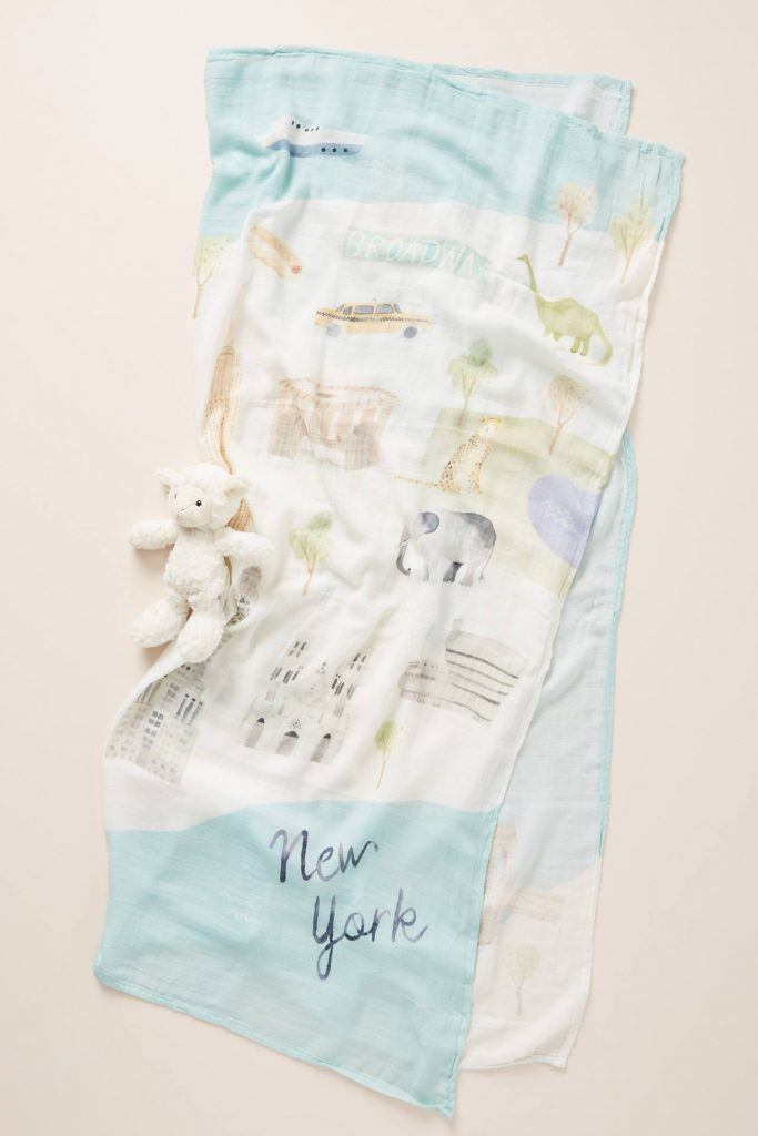 New York Muslin Baby Swaddle
