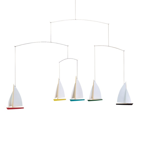 Sailboat Baby Mobile Nursery