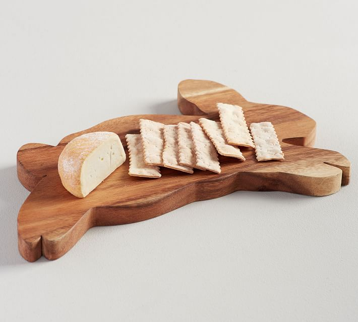 Wood Bunny Cheese Board