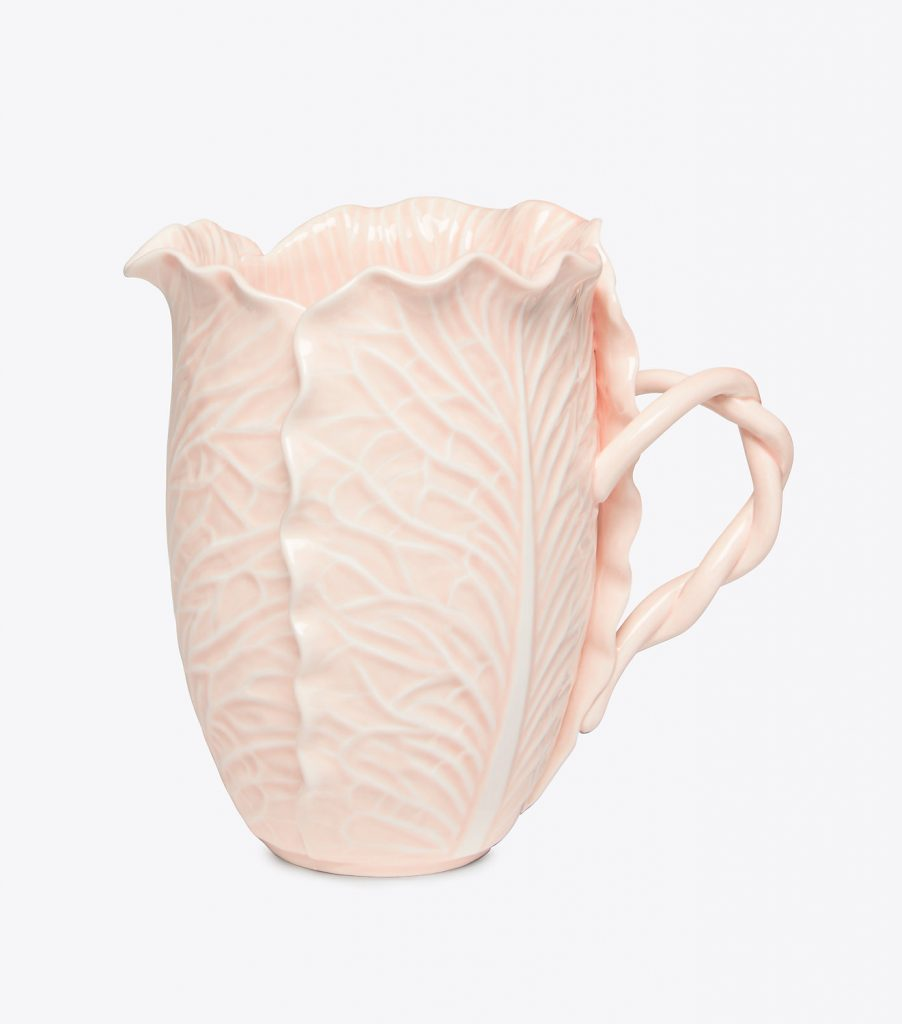 Tory Burch Dodie Thayer Lettuce Ware Pink Mug