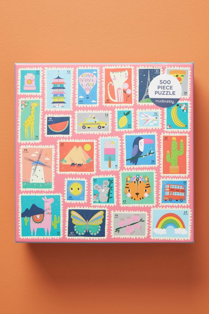 Postage Stamp Jigsaw Puzzle
