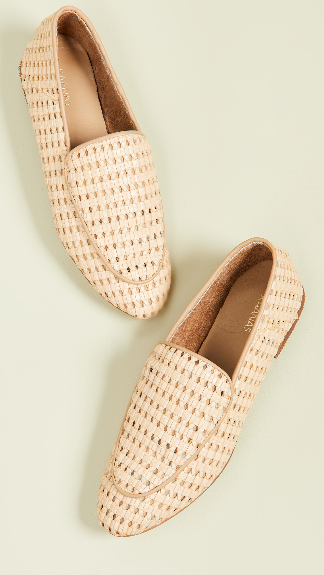Basket Weave Loafers