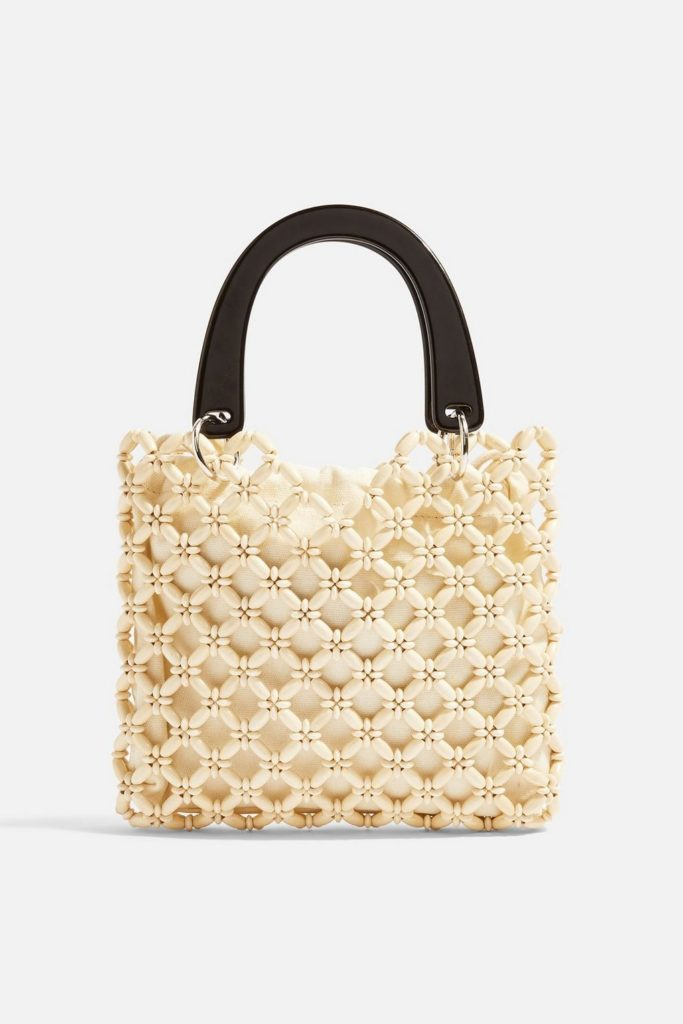 Bead Mini Tote Bag