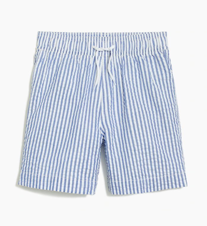 Boys' Seersucker Swim Trunks Shorts