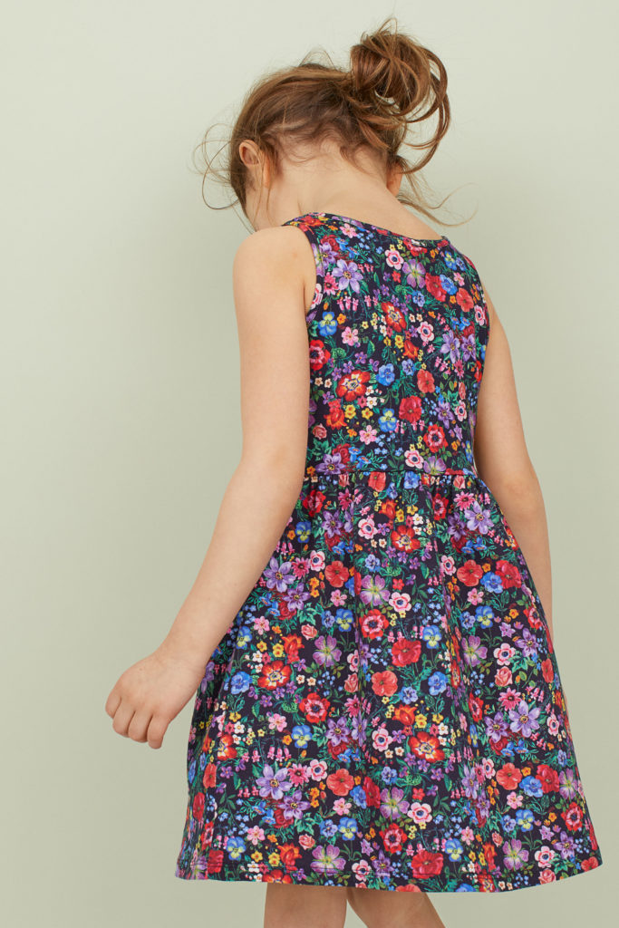 Floral Girls Dress Nathalie Lete x H&M Collaboration