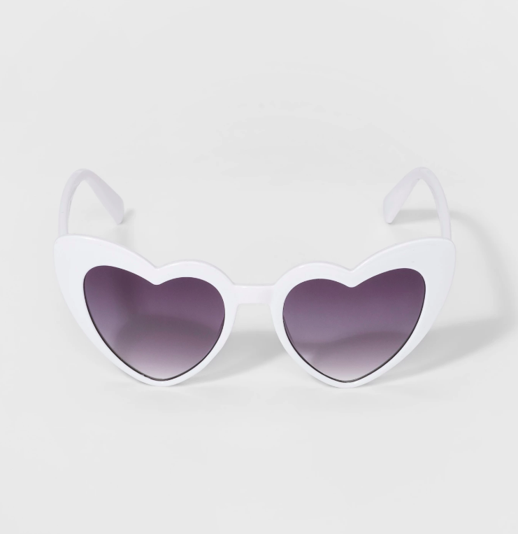 Girls' Heart Sunglasses