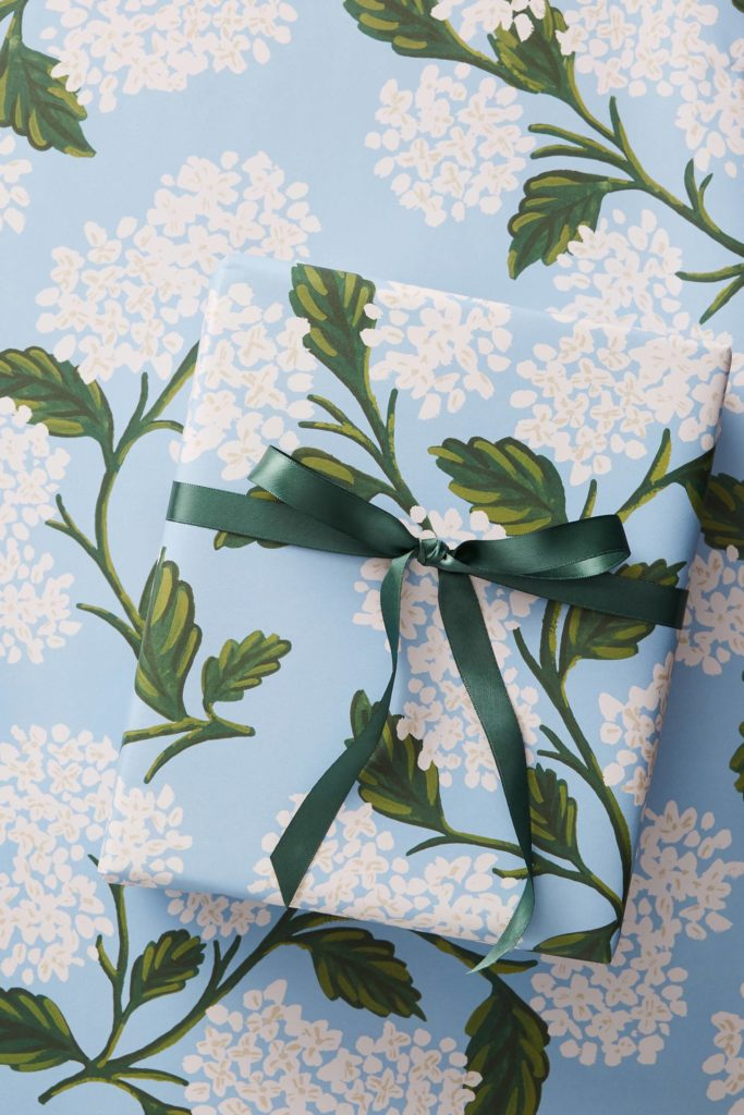 Hydrangea Wrapping Paper