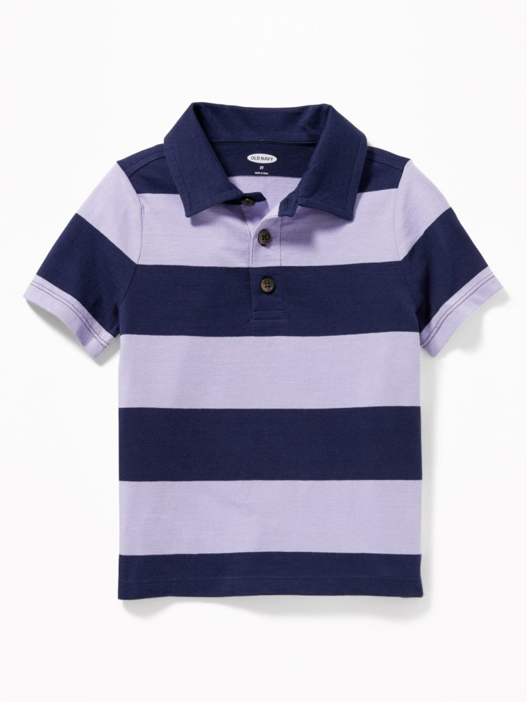 Rugby Stripe Polo Shirt
