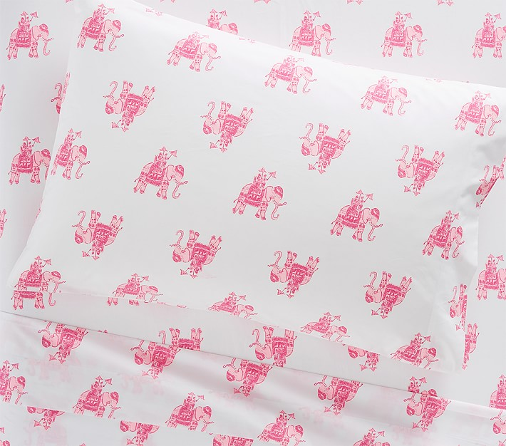 Lilly Pulitzer Elephant Pink Sheet Set