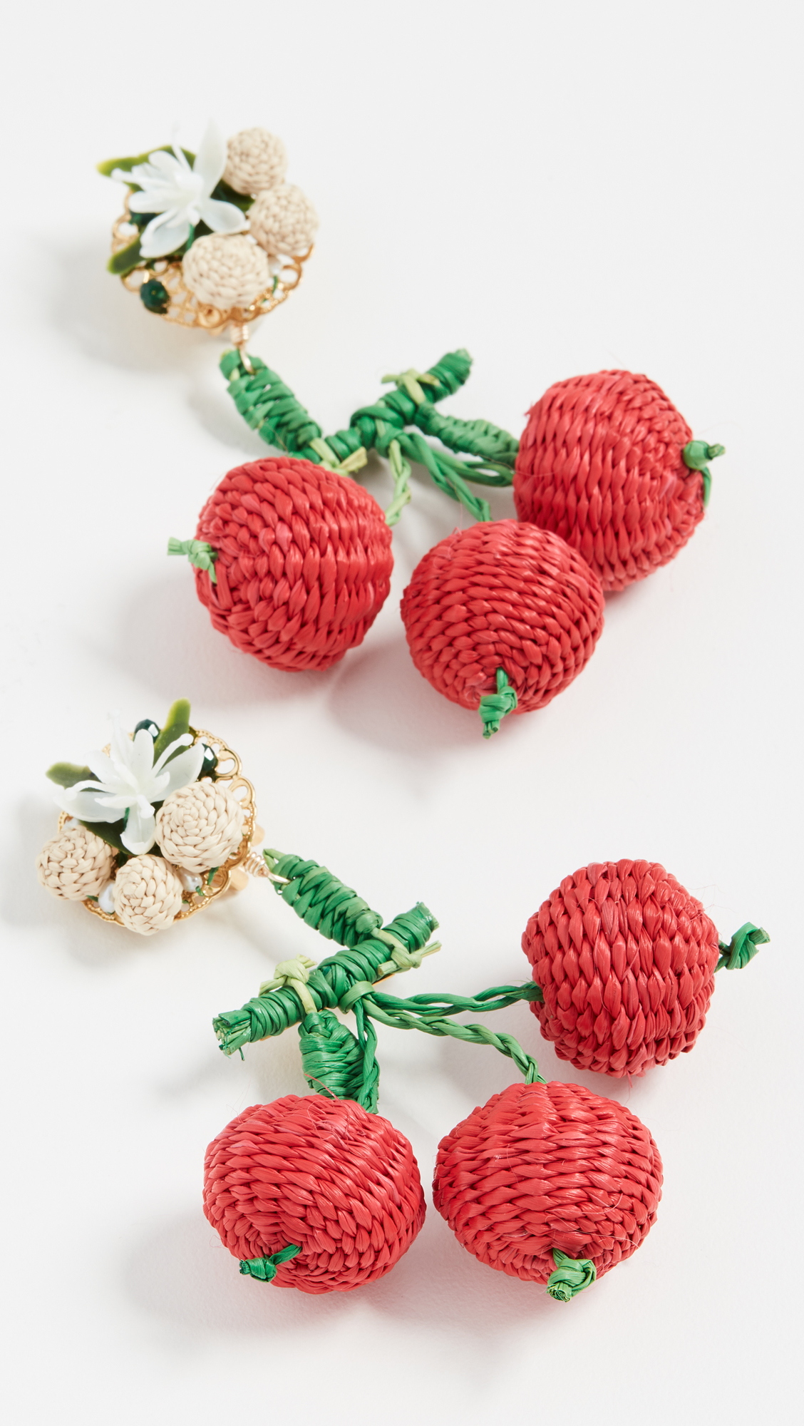 9e5108290fe The Daily Hunt  Cherry Raffia Earrings and more! - Katie Considers