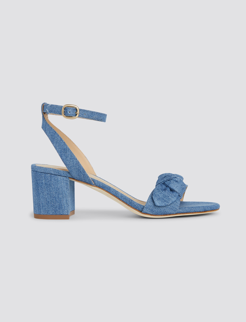 Chambray Sandals