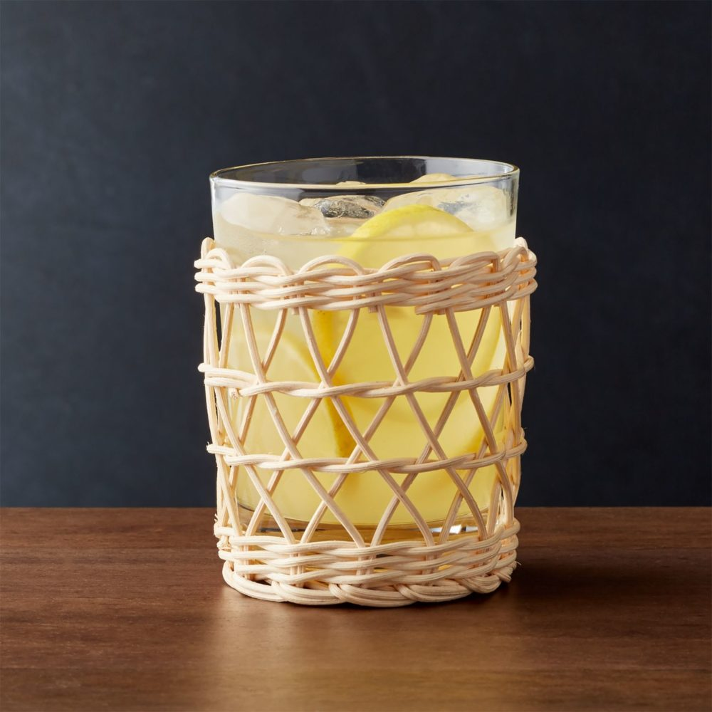 The Daily Hunt: The Chicest Rattan Wrapped Glassware and more!