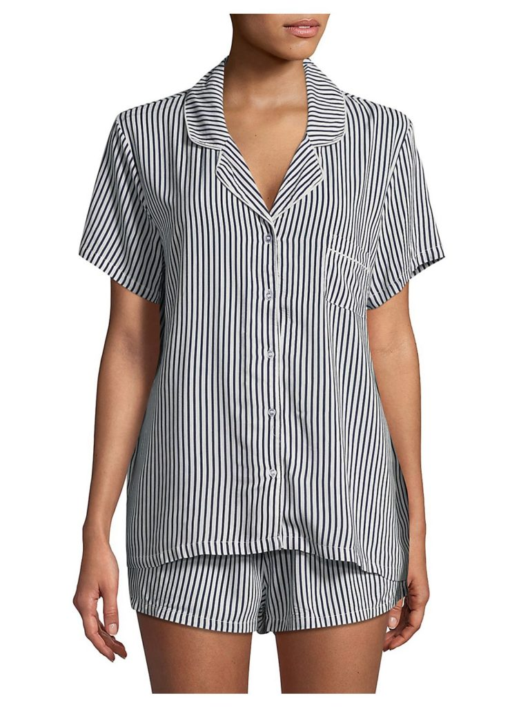 Stripe Pajama Set