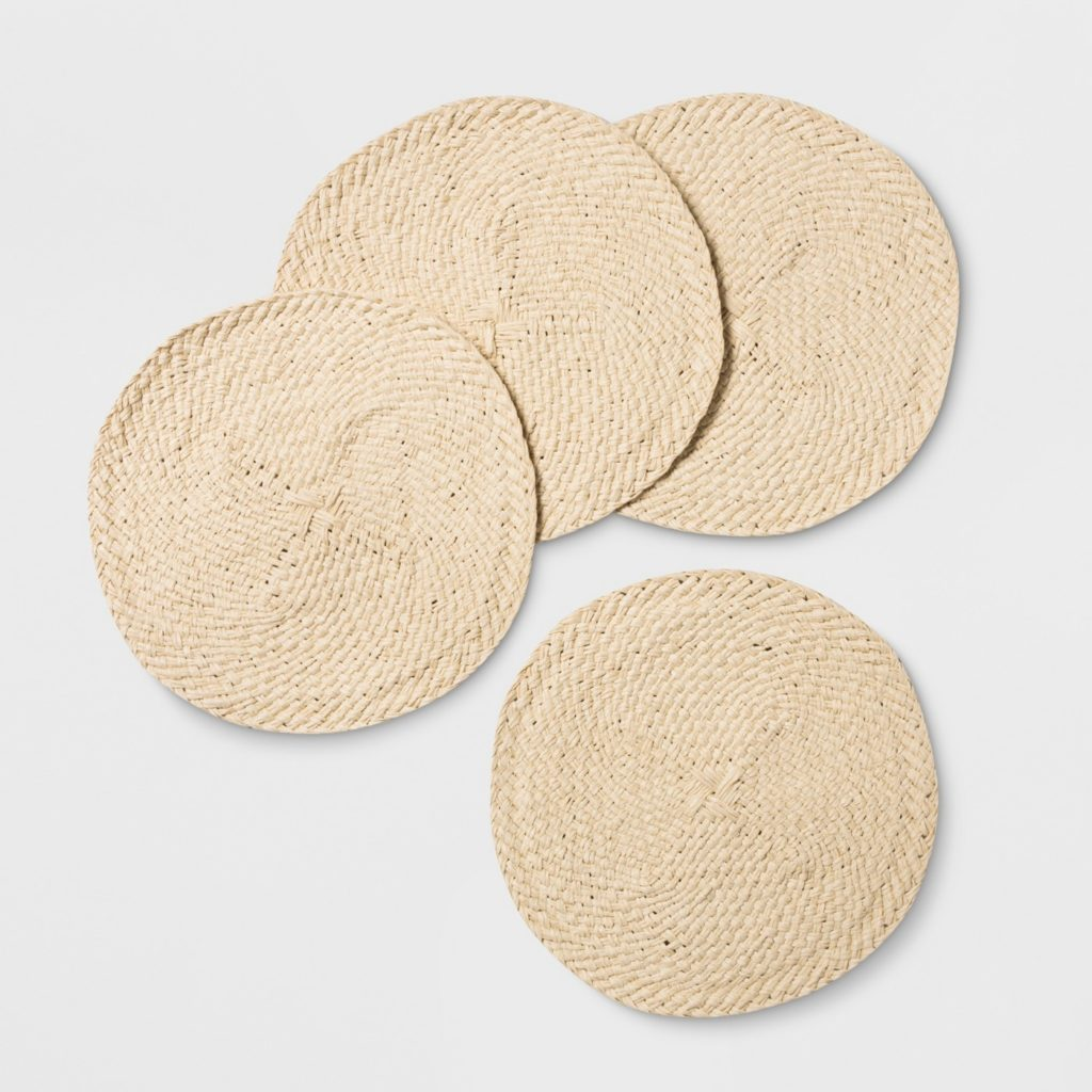 Round Woven Placemat