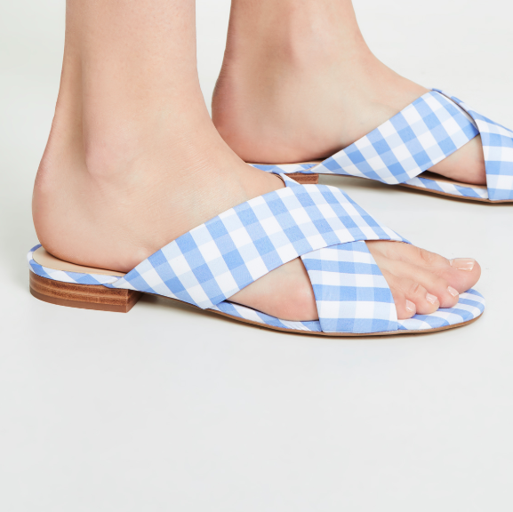 The Daily Hunt: Gingham Sandals and more!
