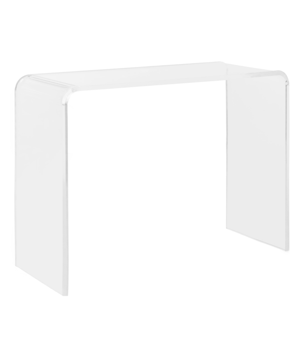 Acrylic Console Table Lucite