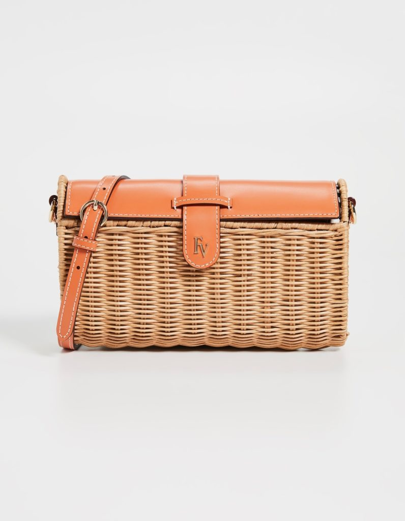 Wicker Crossbody Bag