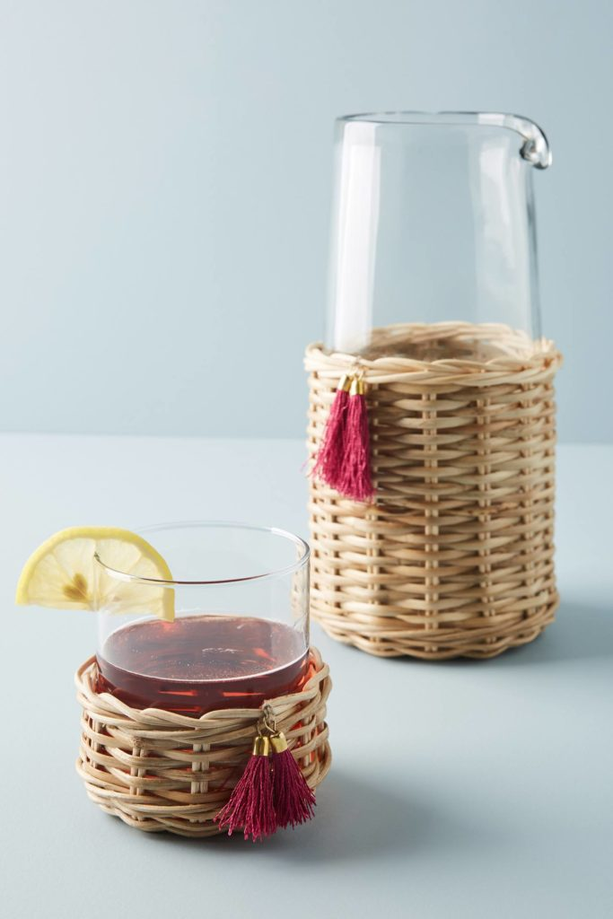 Glass Carafe with Cover