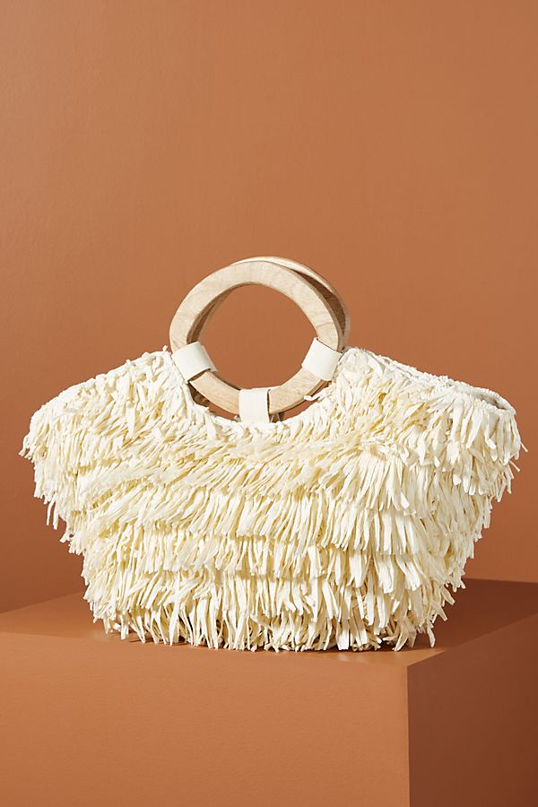 Fringed Tote Bag