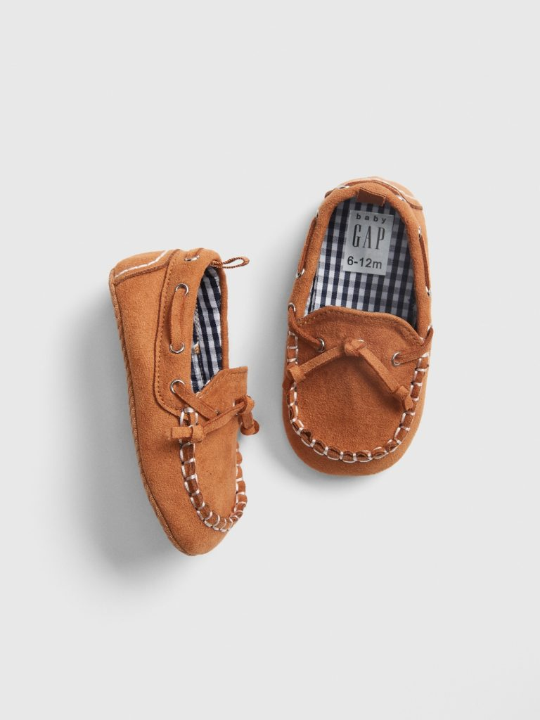 Gingham Lined Loafers Baby Boy