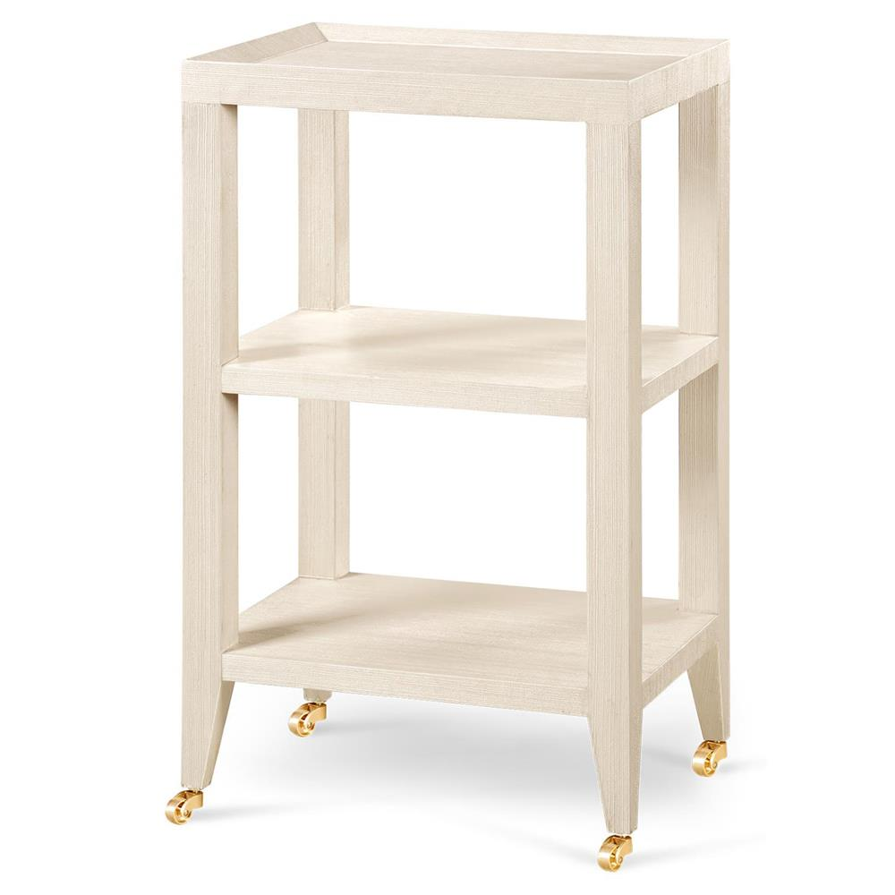 Tiered Rolling Side Table