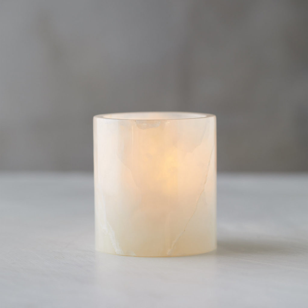 Onyx Votive Candle Holder