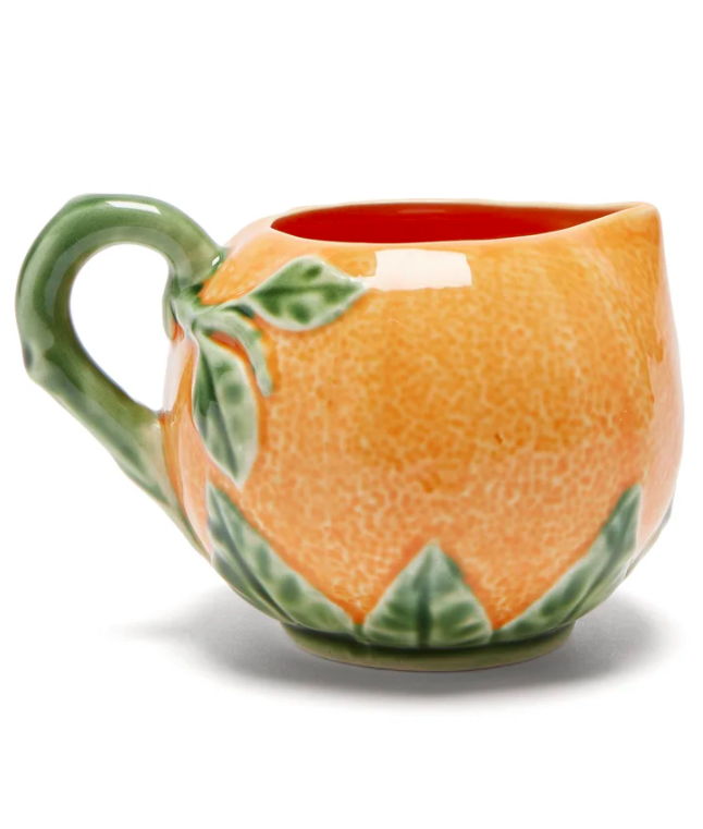 Orange Earthenware Jug