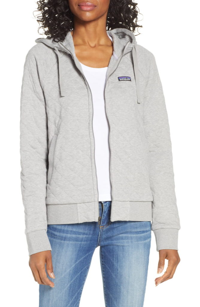Patagonia Quilted Organic Cotton Hoodie
