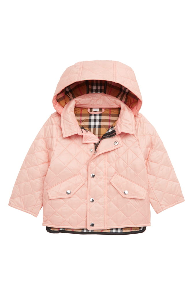 Rose Quilted Jacket