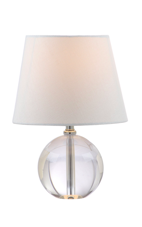Round Clear Table Lamp