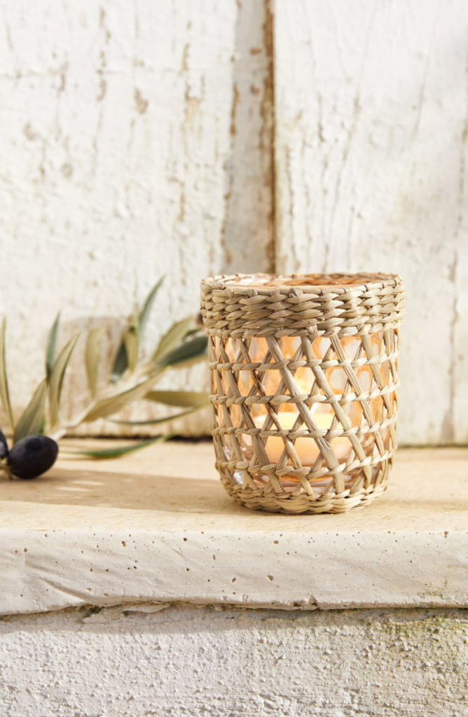 Seagrass Tea Light Holder