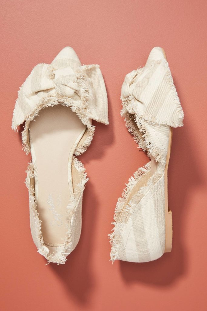 Frayed Bow Flats