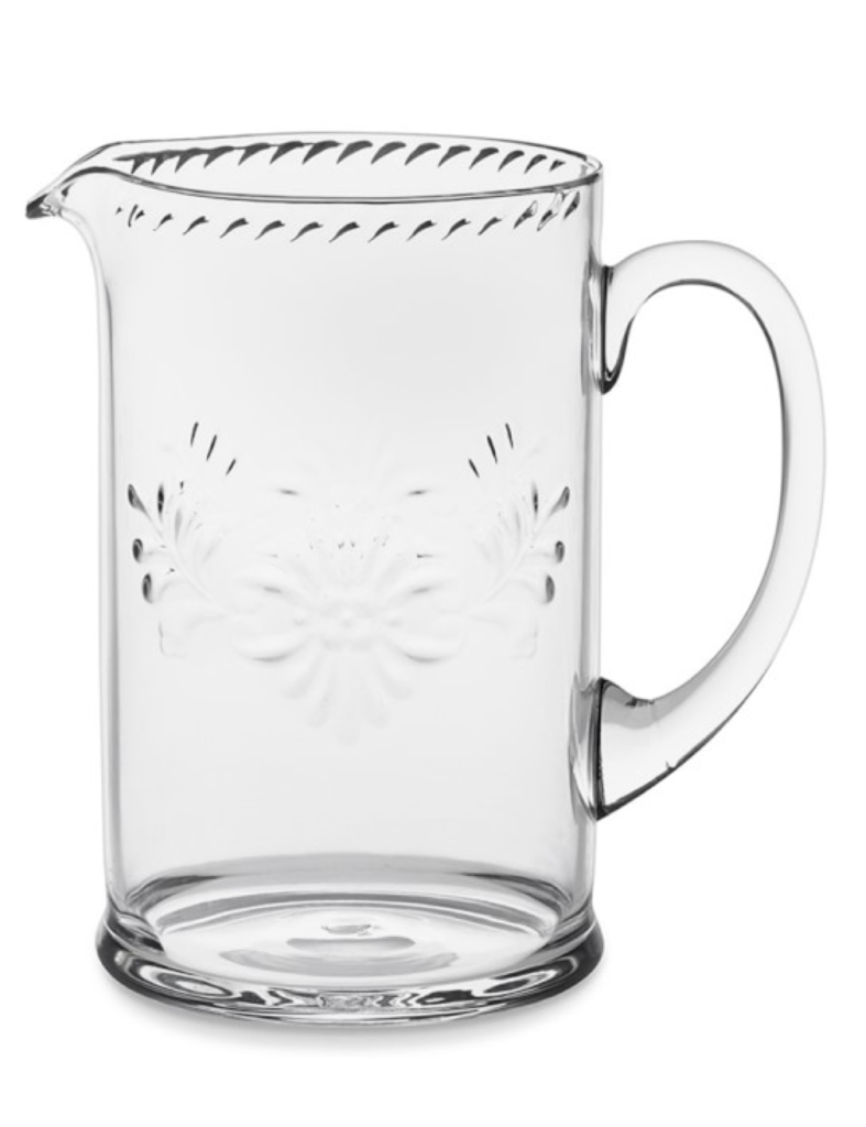 Etched Tritan Pitcher Glass