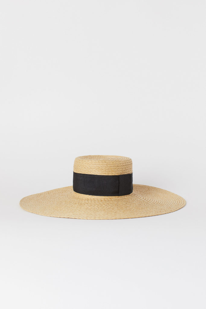 Straw Sun Hat Wide Brim
