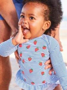 Little Loves: World's Cutest Strawberry Print Rash Guard and more!