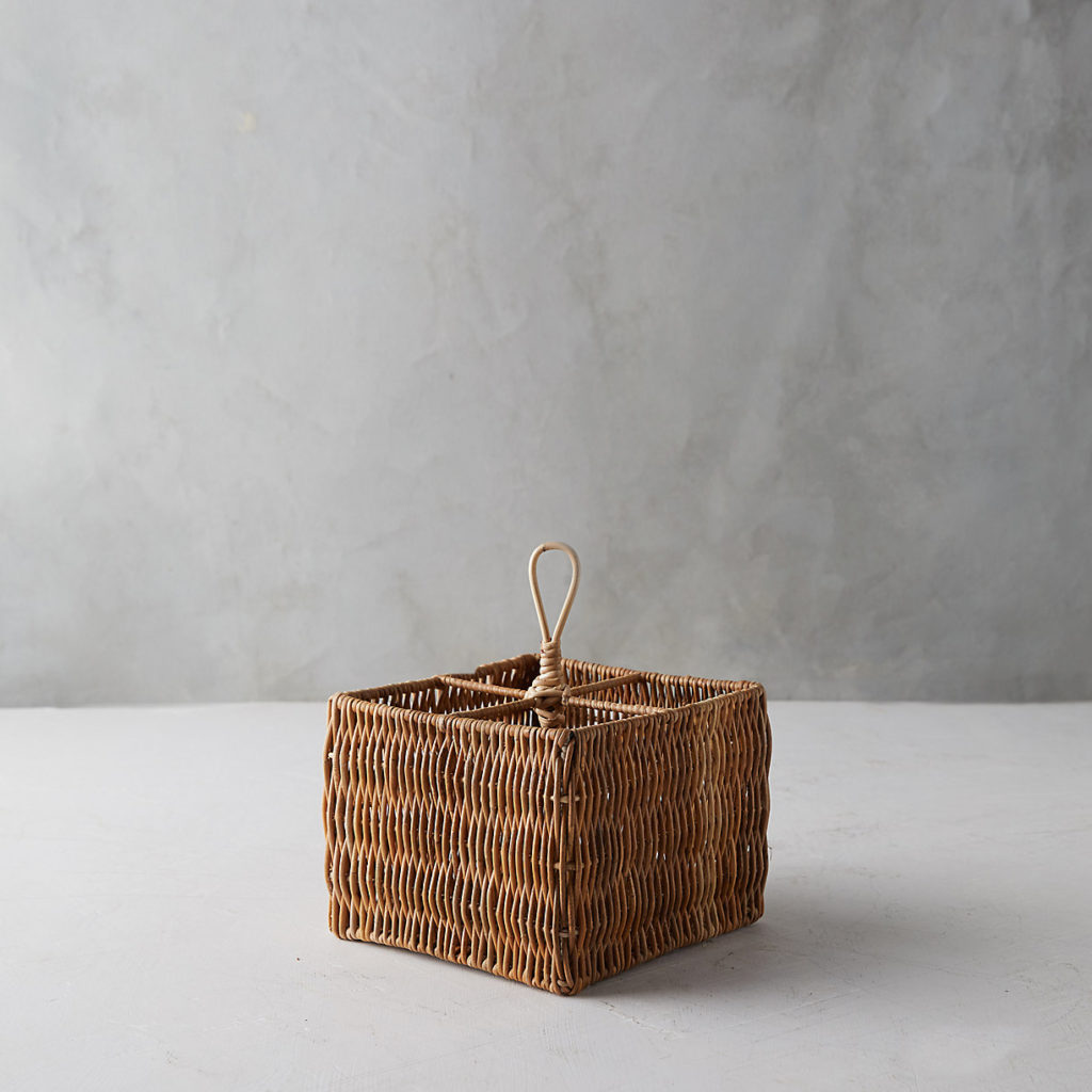Wicker Utensil Holder
